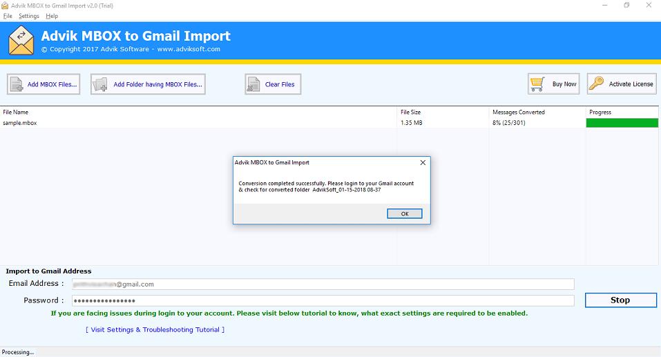 gmail mbox 復元