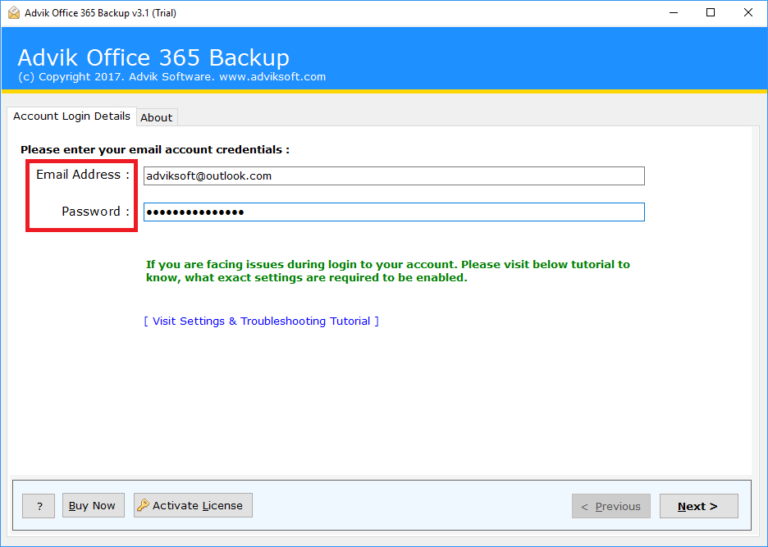Office 365からpstをダウンロードする