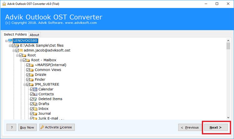 OST PST 変換
